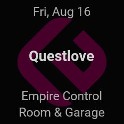 Questlove – Austin – Aug 16 | edmtrain