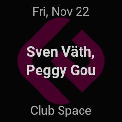 Sven Väth, Peggy Gou – Miami – Nov 22 | edmtrain