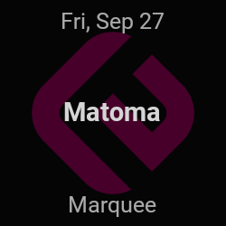 Matoma – New York – Sep 27 | edmtrain