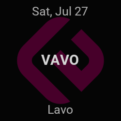 VAVO – New York – Jul 27 | edmtrain