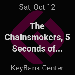 The Chainsmokers, 5 Seconds of Summer – Buffalo – Oct 12