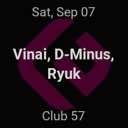 Vinai, D-Minus – New York – Sep 7 | edmtrain