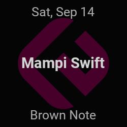 Mampi Swift – Brooklyn – Sep 14   edmtrain