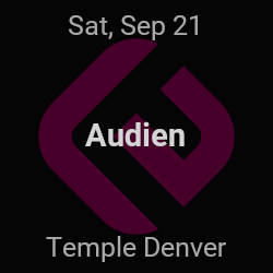 Audien – Denver – Sep 21 | edmtrain