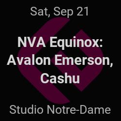 NVA Equinox, Avalon Emerson – Montréal – Sep 21 | edmtrain