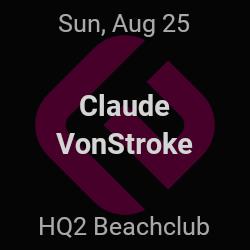 Claude VonStroke – Atlantic City – Aug 25   edmtrain