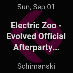 Electric Zoo - Evolved Official Afterparty, GTA – Brooklyn