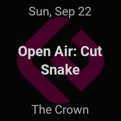 Open Air, Cut Snake – New York – Sep 22 | edmtrain