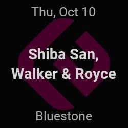 Shiba San, Walker & Royce – Columbus – Oct 10 | edmtrain