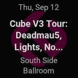Cube V3 Tour, Deadmau5 – Dallas – Sep 12   edmtrain