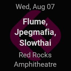 Flume, Jpegmafia – Morrison – Aug 7 | edmtrain